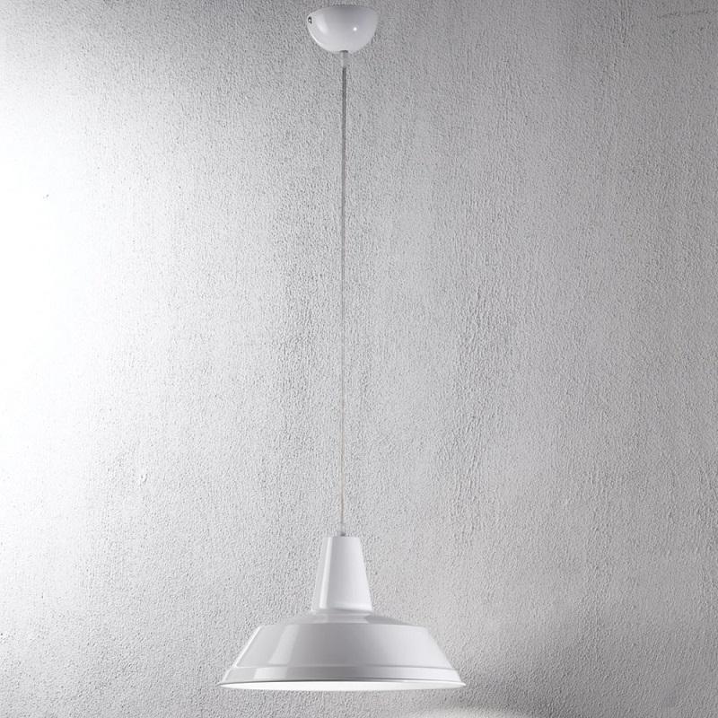 pendelleuchte f r k che oder esszimmer 35 cm weiss wei wohnlicht. Black Bedroom Furniture Sets. Home Design Ideas