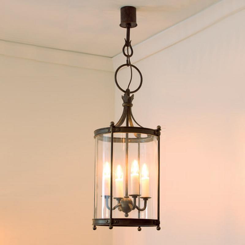 pendelleuchte handgeschmiedet 4 flammig patina 34cm wohnlicht. Black Bedroom Furniture Sets. Home Design Ideas