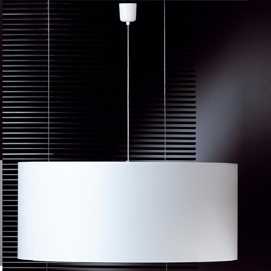 pendelleuchte mit abwaschbaren schirm chintz wei 70 cm. Black Bedroom Furniture Sets. Home Design Ideas