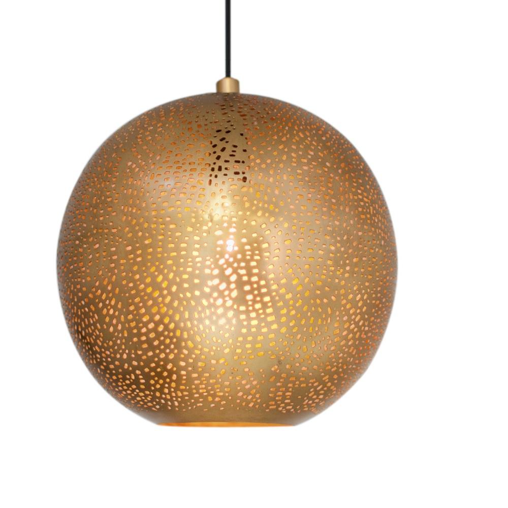 pendelleuchte sikri in gold gold wohnlicht. Black Bedroom Furniture Sets. Home Design Ideas