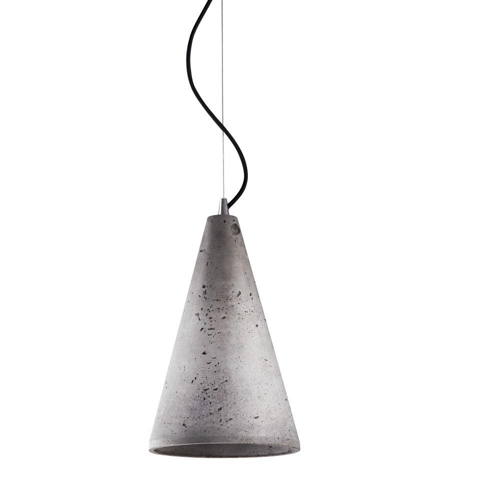 pendelleuchte volcano aus beton wohnlicht. Black Bedroom Furniture Sets. Home Design Ideas