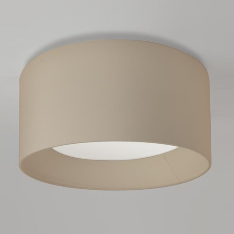 runde deckenleuchte bevel schirm hellgrau 60 cm hellgrau wohnlicht. Black Bedroom Furniture Sets. Home Design Ideas