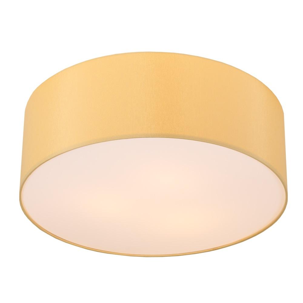 runde deckenleuchte mit lampenschirm aus chintz stoff 62cm melange melange wohnlicht. Black Bedroom Furniture Sets. Home Design Ideas