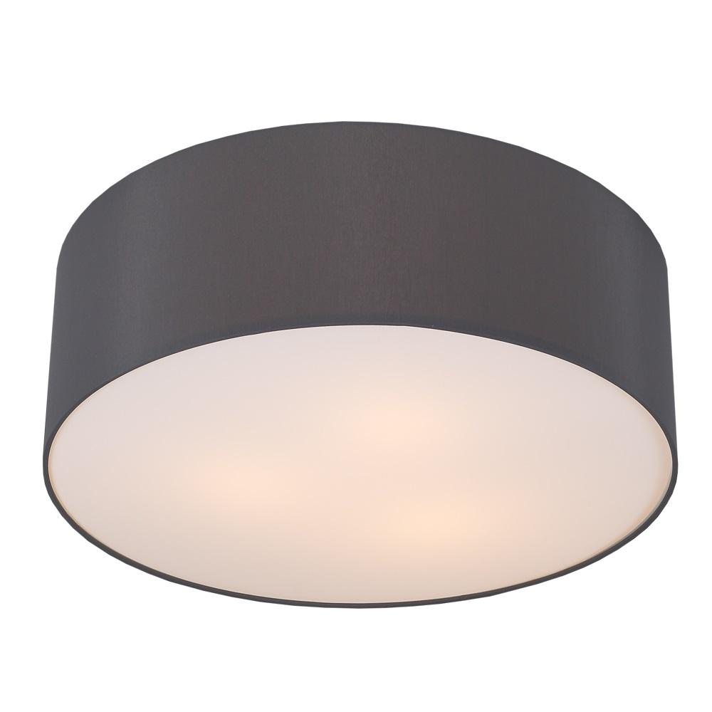 runde deckenleuchte mit lampenschirm aus chintz stoff 62cm schiefer schiefer wohnlicht. Black Bedroom Furniture Sets. Home Design Ideas