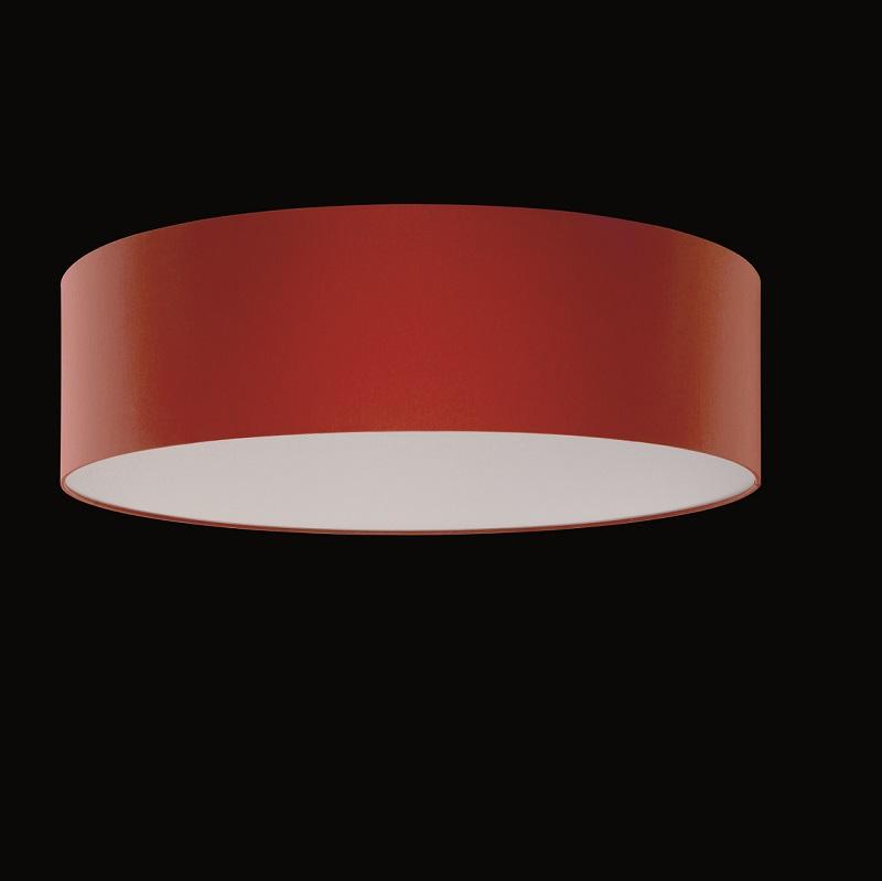 runder lampenschirm chintz stoff rot 60 cm wohnlicht. Black Bedroom Furniture Sets. Home Design Ideas