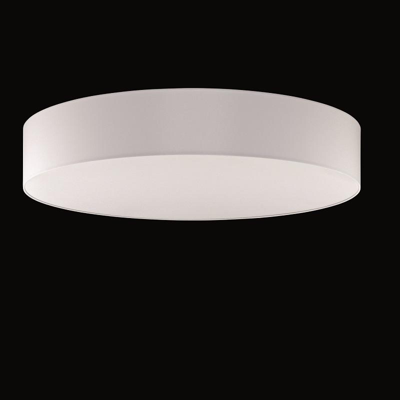 runder lampenschirm chintz stoff weiss durchmesser 75 cm wohnlicht. Black Bedroom Furniture Sets. Home Design Ideas