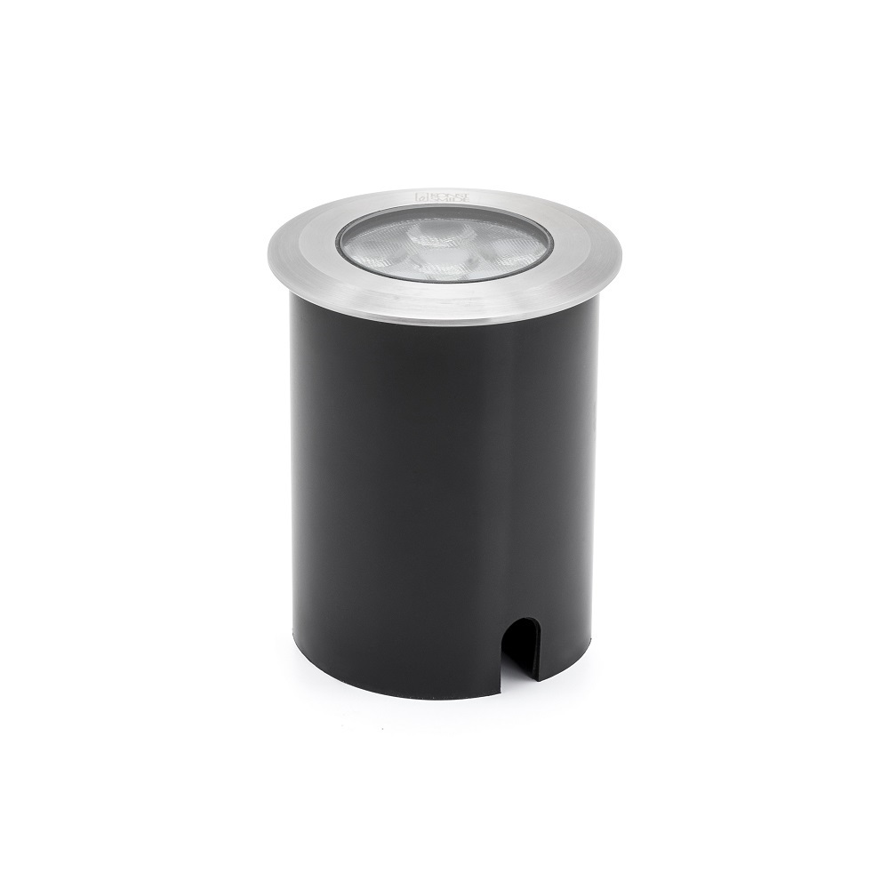 runder led einbaustrahler f r au en 6 watt wohnlicht. Black Bedroom Furniture Sets. Home Design Ideas