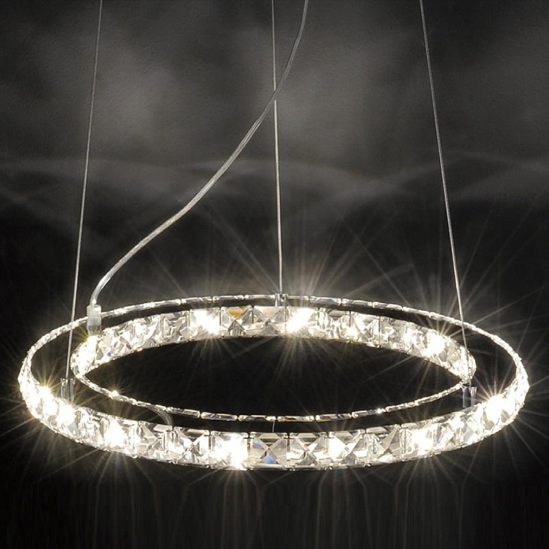 schmuckst ck led pendelleuchte geschliffenes glas wohnlicht. Black Bedroom Furniture Sets. Home Design Ideas