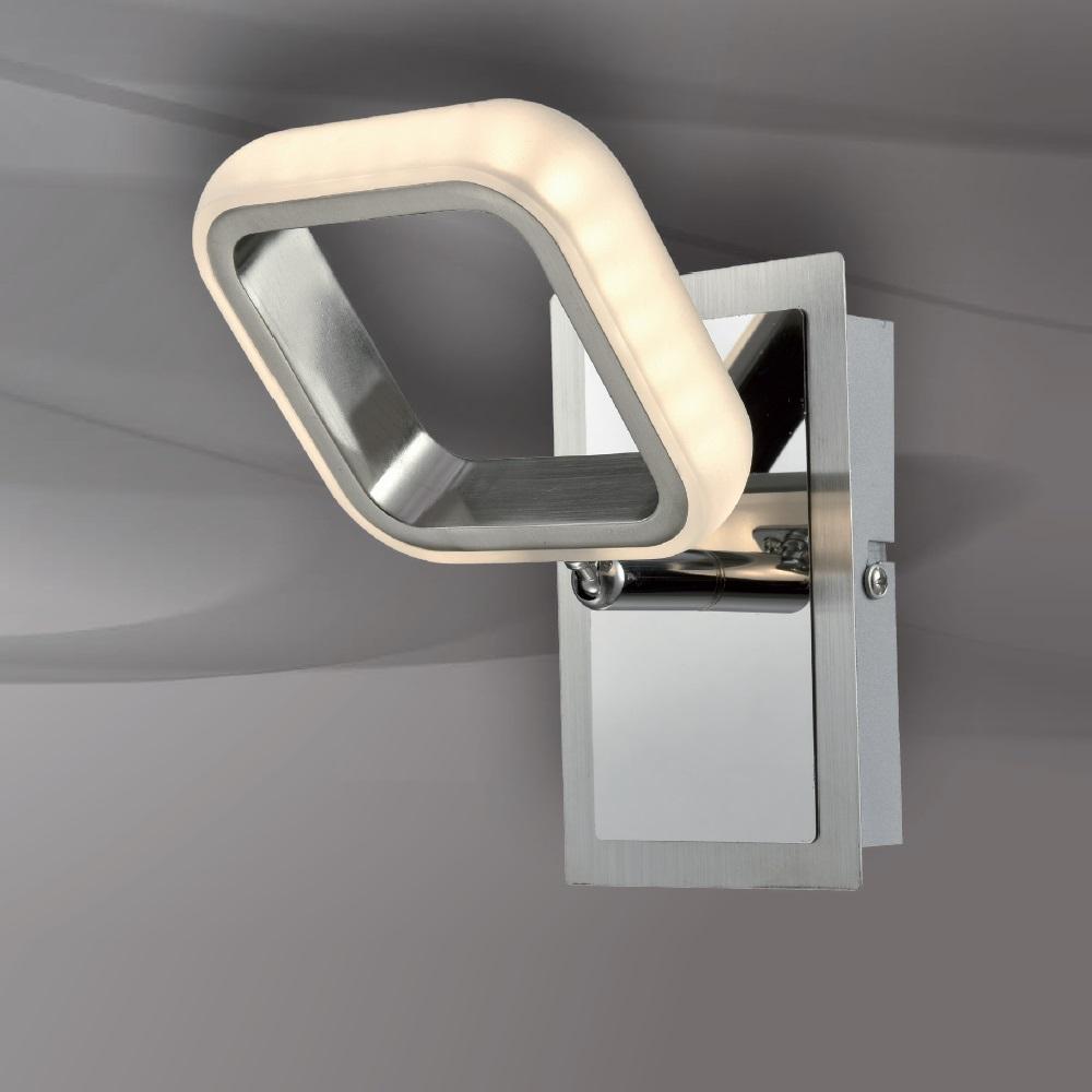 schwenkbare led wand deckenleuchte nero mit schalter wohnlicht. Black Bedroom Furniture Sets. Home Design Ideas