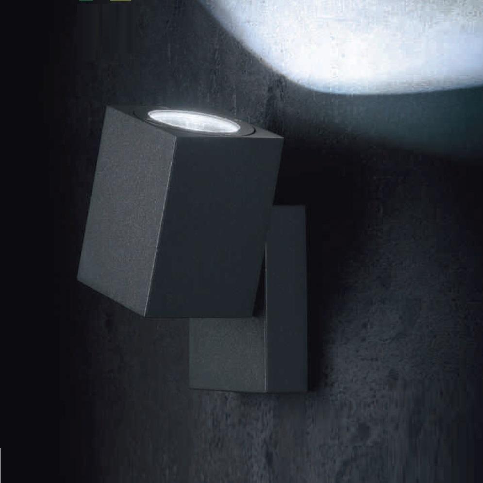 Schwenkbare led wandleuchte movimento 2 farben wohnlicht - Schwenkbare wandleuchte ...