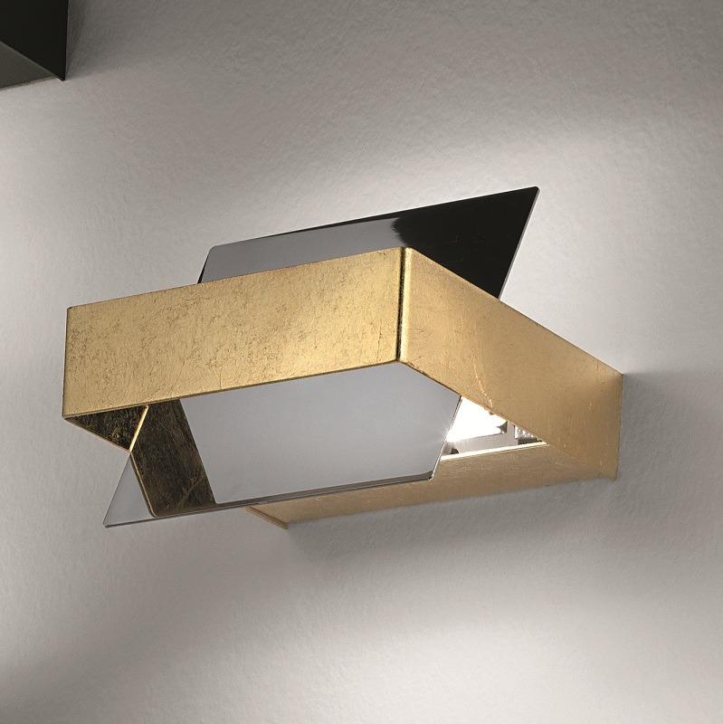 schwenkbare wandleuchte italienisches design chrom. Black Bedroom Furniture Sets. Home Design Ideas