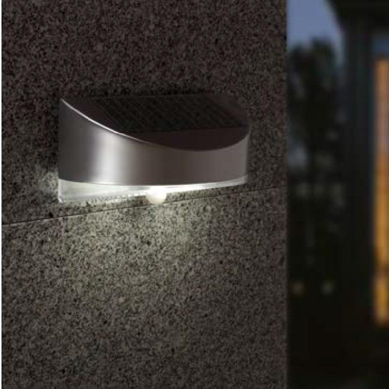 solar led leuchte mit bewegungsmelder wohnlicht. Black Bedroom Furniture Sets. Home Design Ideas