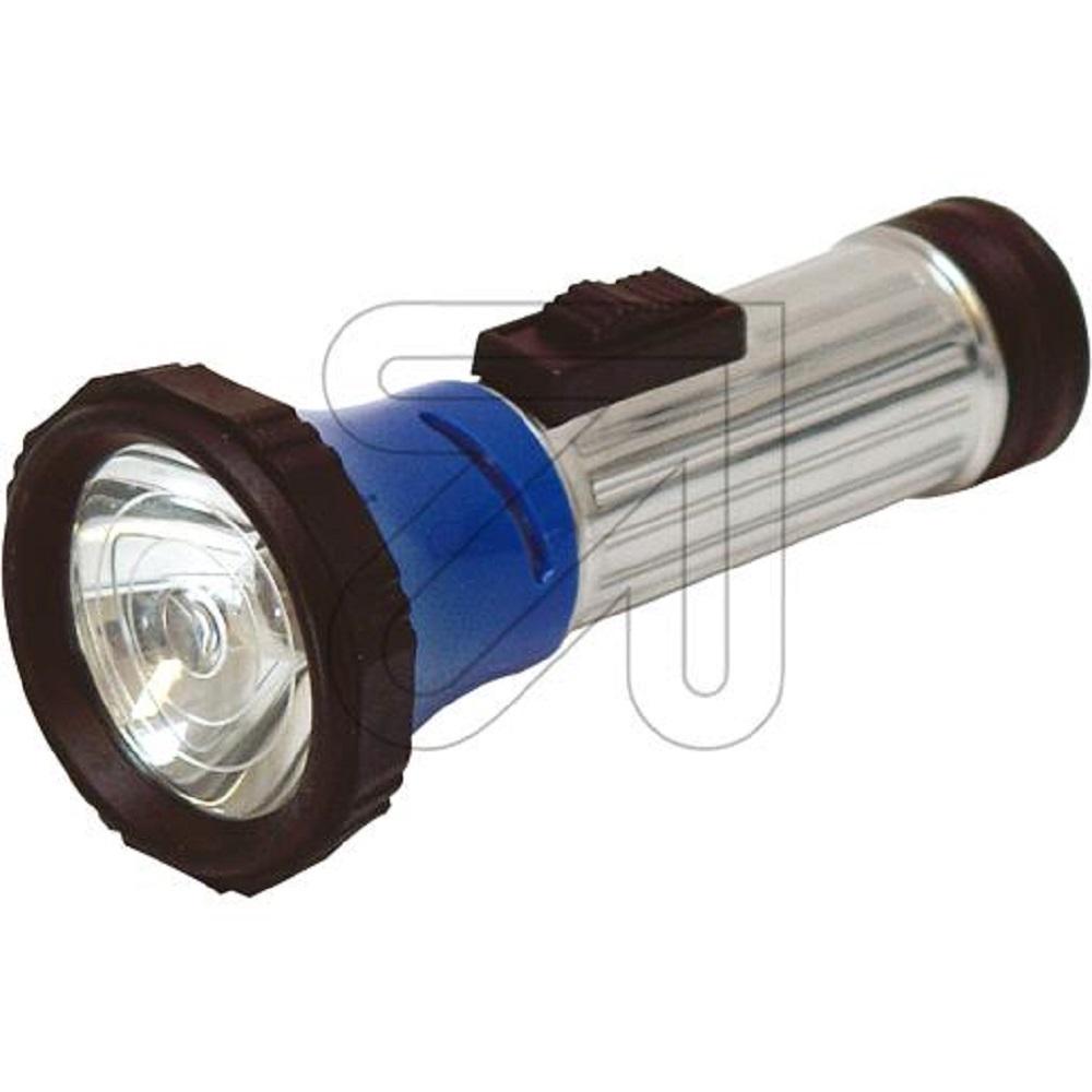stahlblech taschenlampe mit schiebeschalter lampe e10 und. Black Bedroom Furniture Sets. Home Design Ideas