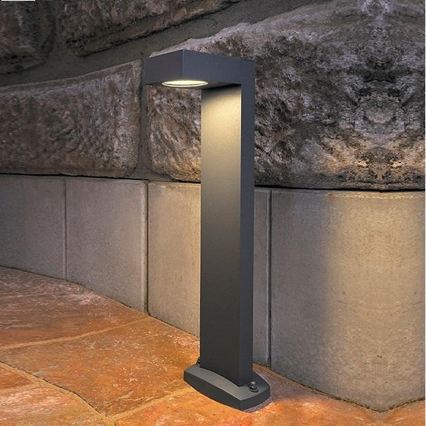 stilsichere wegeleuchte w hlbar in anthrazit oder silbergrau wohnlicht. Black Bedroom Furniture Sets. Home Design Ideas