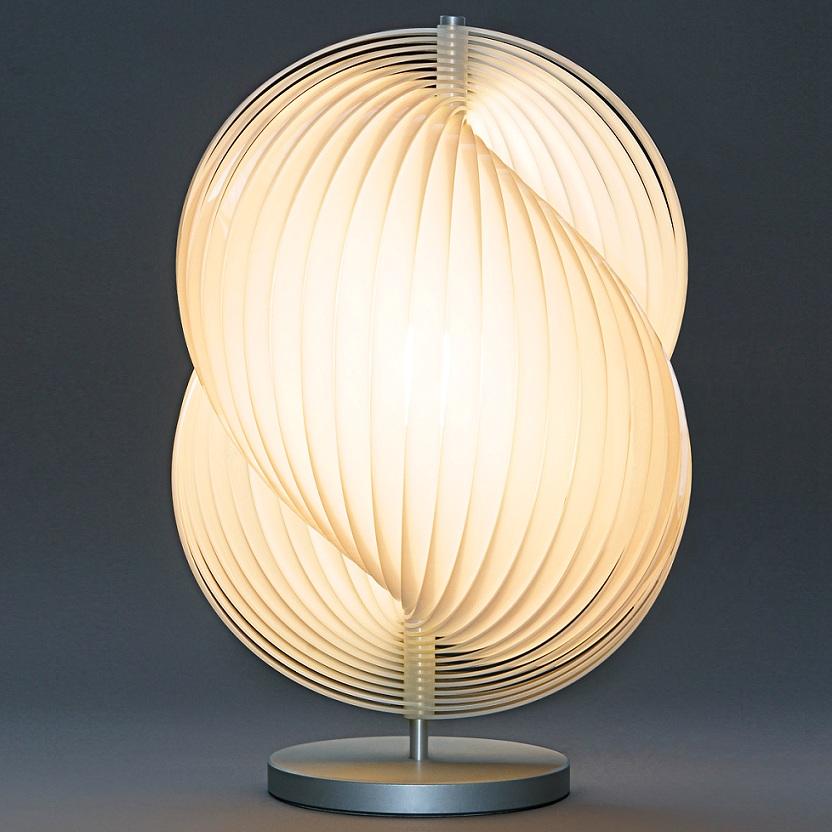 tecnolumen dimmbare tischlampe escarcot 2 wohnlicht. Black Bedroom Furniture Sets. Home Design Ideas