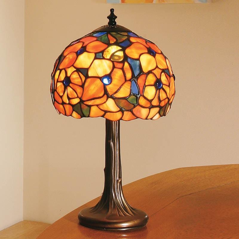 Tiffany tischleuchte josette small wohnlicht for Replica leuchten