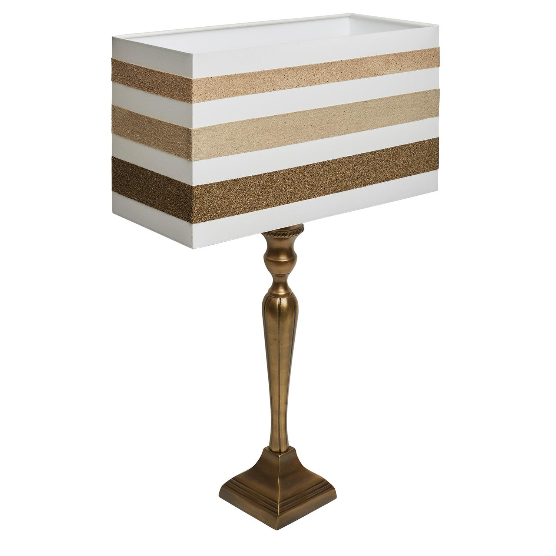 tischlampe schirm sandmotiv weltenbummler streifen wohnlicht. Black Bedroom Furniture Sets. Home Design Ideas
