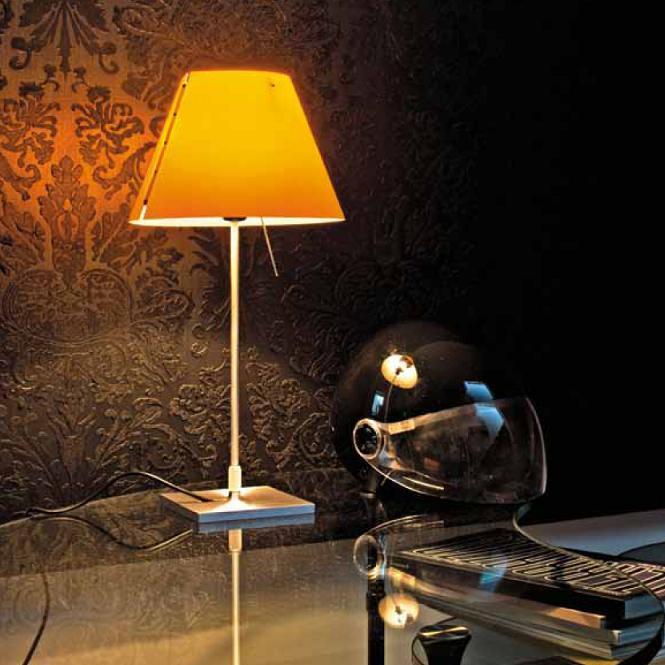 tischleuchte costanzina 2 farben ohne schirm wohnlicht. Black Bedroom Furniture Sets. Home Design Ideas