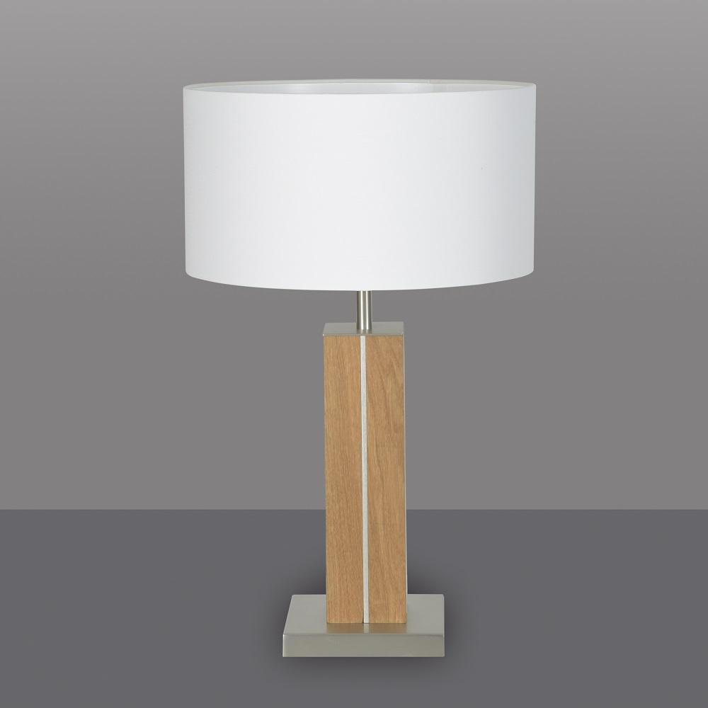 tischleuchte dana von herzblut mit holz wohnlicht. Black Bedroom Furniture Sets. Home Design Ideas