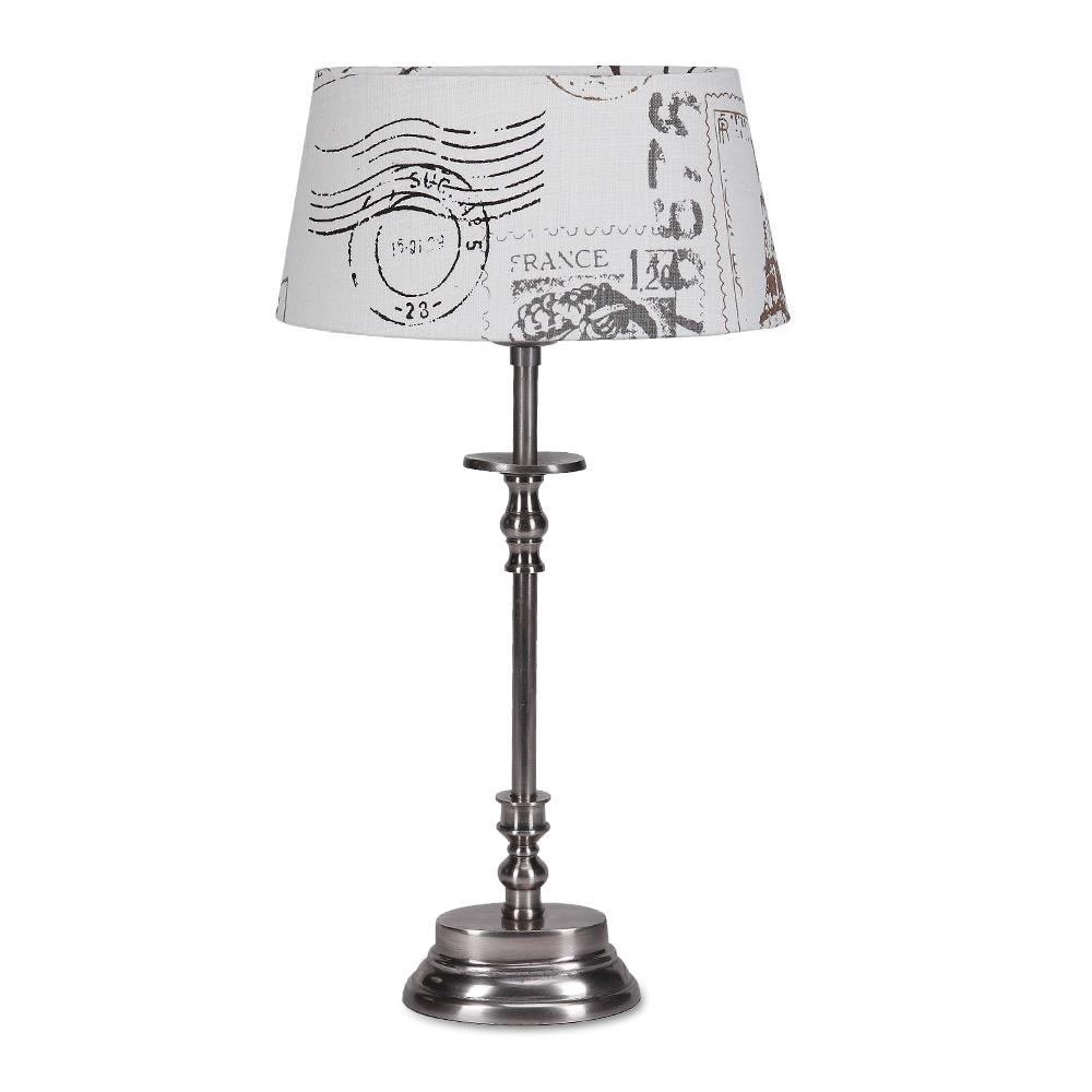 tischleuchte erno mit lampenschirm aus leinen wohnlicht. Black Bedroom Furniture Sets. Home Design Ideas