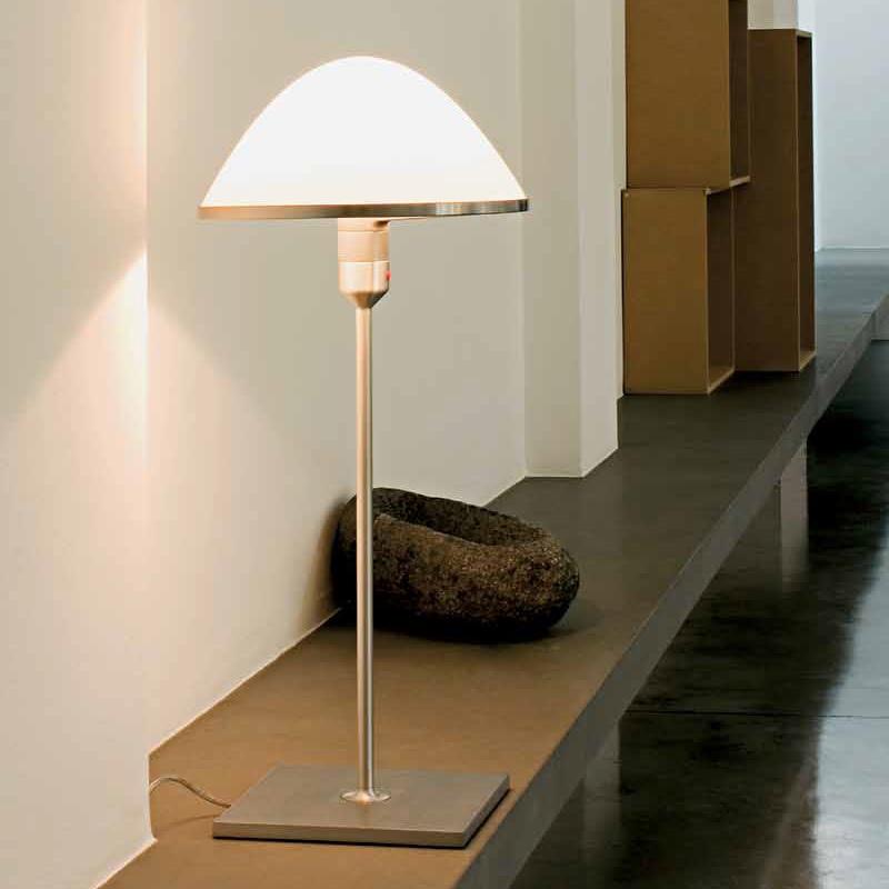 tischleuchte miranda mit dimmer opalglas wohnlicht. Black Bedroom Furniture Sets. Home Design Ideas