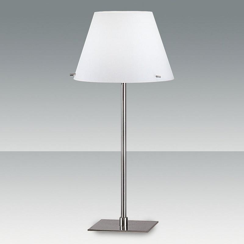 tischleuchte glas konisch mundgeblasen mit dimmer wohnlicht. Black Bedroom Furniture Sets. Home Design Ideas