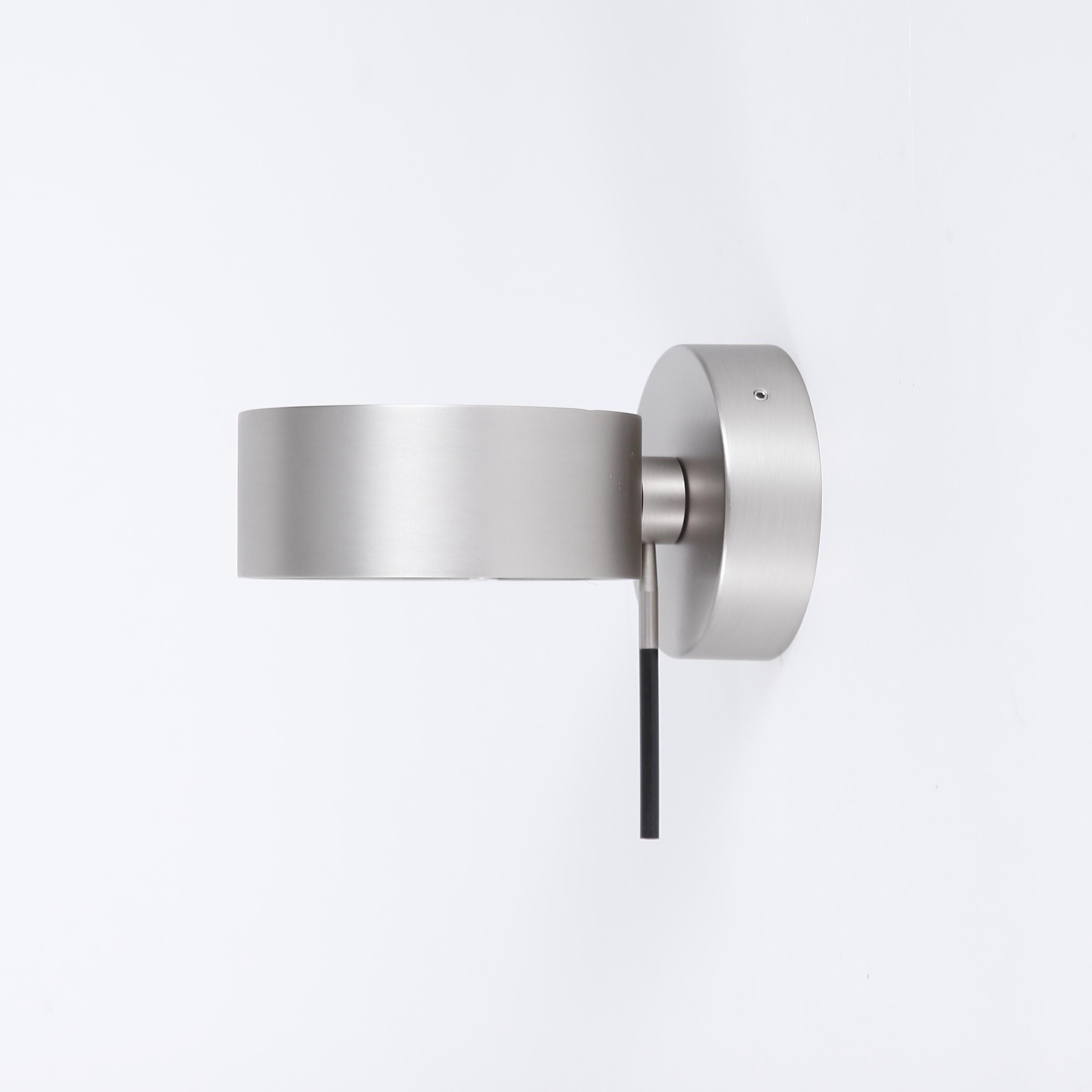 top light puk wall ball nickel matt led wohnlicht. Black Bedroom Furniture Sets. Home Design Ideas