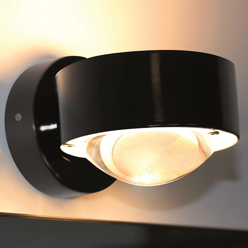 top light wandleuchte puk wall in schwarz schwarz wohnlicht. Black Bedroom Furniture Sets. Home Design Ideas