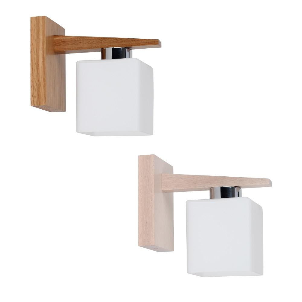 wandlampe saga aus holz zwei ausf hrungen wohnlicht. Black Bedroom Furniture Sets. Home Design Ideas