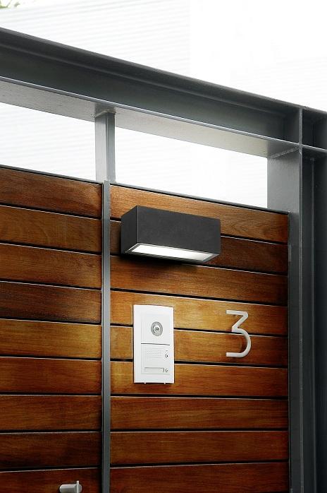 wandleuchte 26watt g24d 3 leuchtmittel ip65 aus aluminium. Black Bedroom Furniture Sets. Home Design Ideas