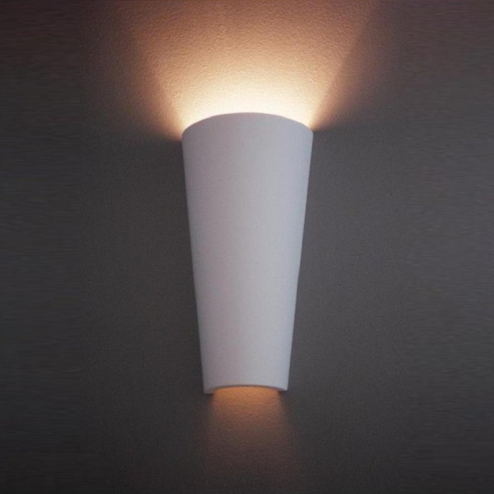 wandleuchte aus gips verschiedene gr en wohnlicht. Black Bedroom Furniture Sets. Home Design Ideas