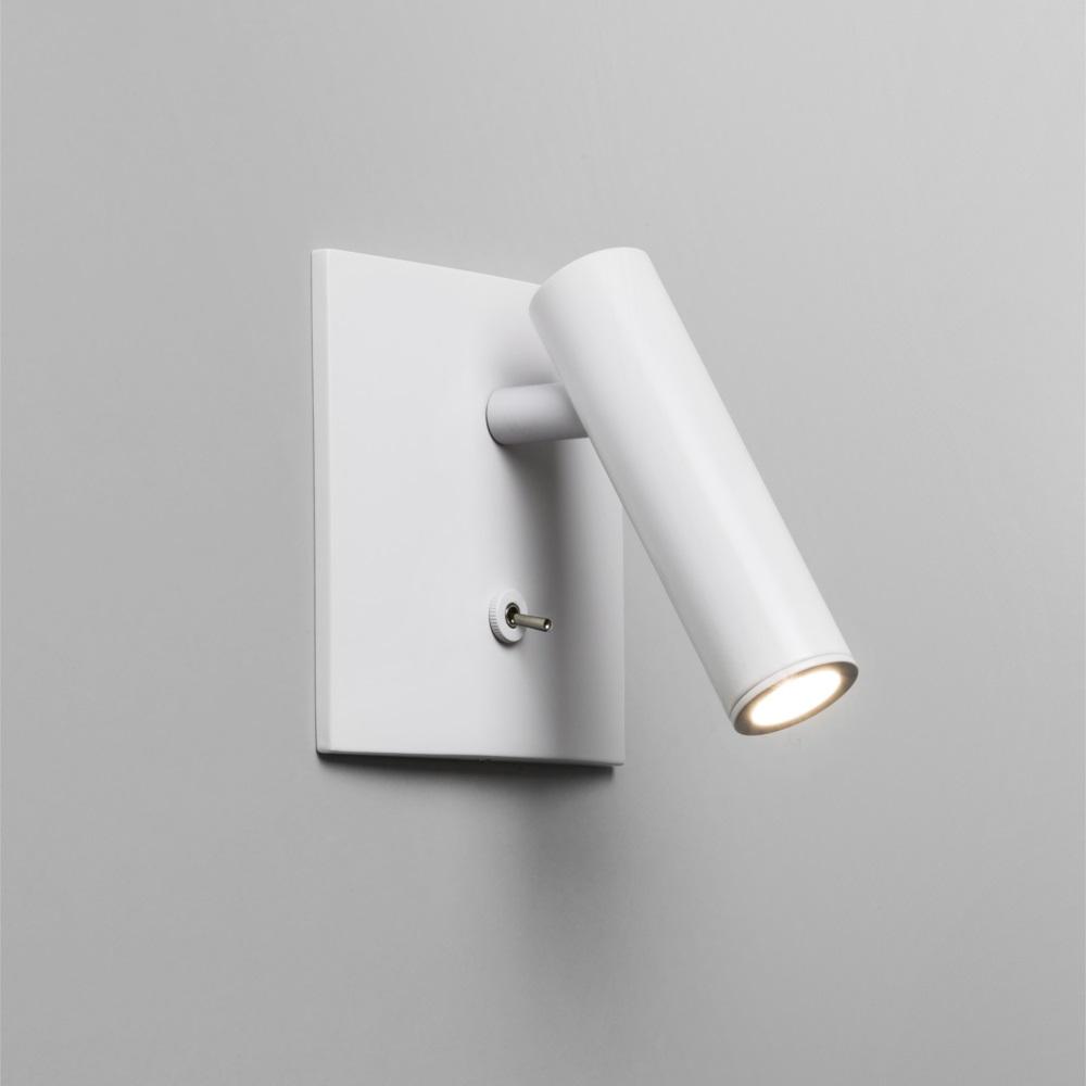 wandleuchte enna surface led 3w in wei wei wohnlicht. Black Bedroom Furniture Sets. Home Design Ideas