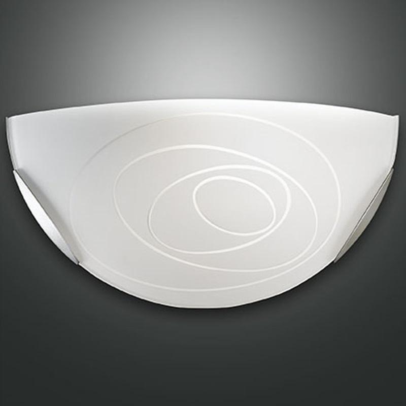 wandleuchte glas in wei wei satiniert wohnlicht. Black Bedroom Furniture Sets. Home Design Ideas