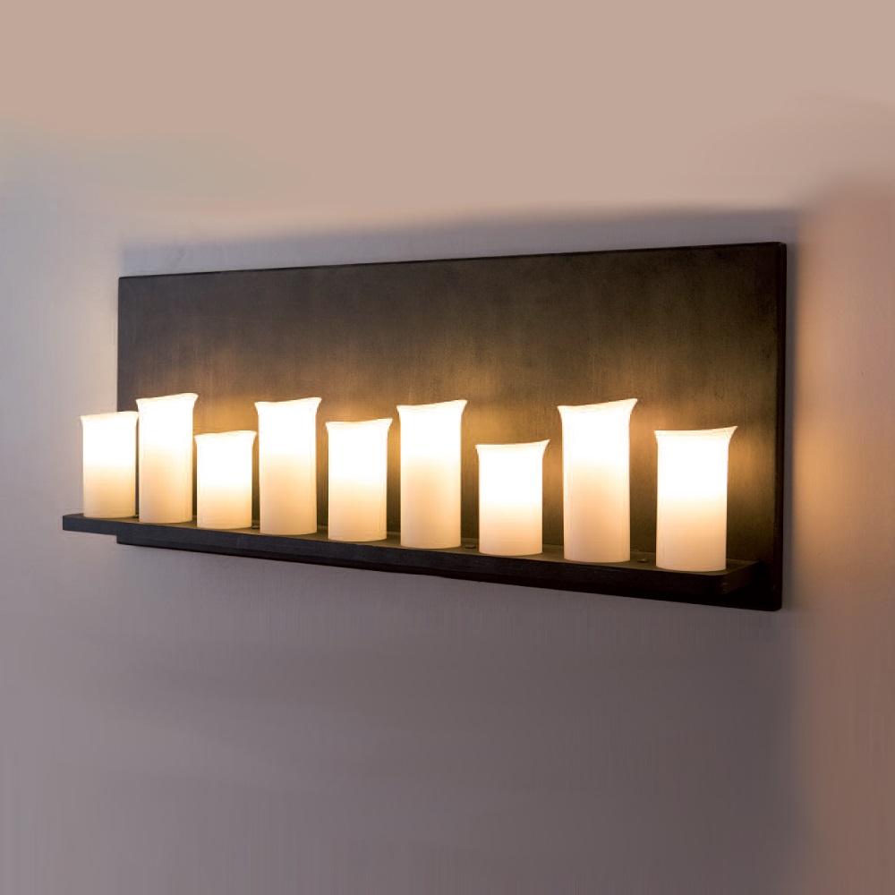 wandleuchte mit opalglas im landhausstil echte. Black Bedroom Furniture Sets. Home Design Ideas