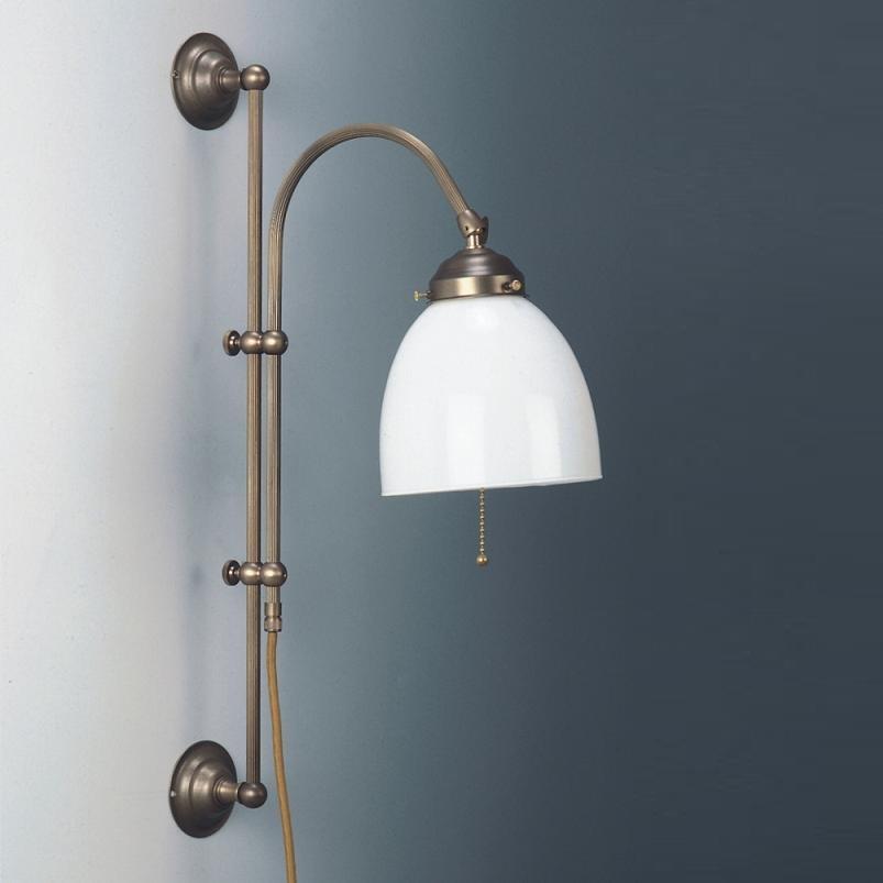 wandleuchte verstellbar altmessing mit opalglas. Black Bedroom Furniture Sets. Home Design Ideas