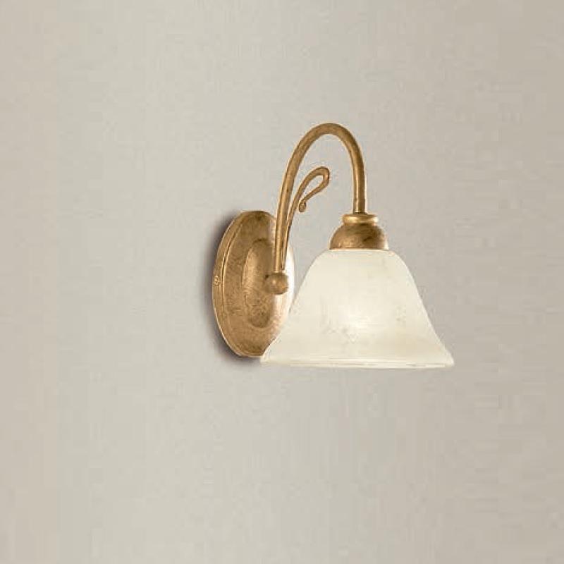 edle wandleuchte 1 oder 2 flammig messing antik wohnlicht. Black Bedroom Furniture Sets. Home Design Ideas