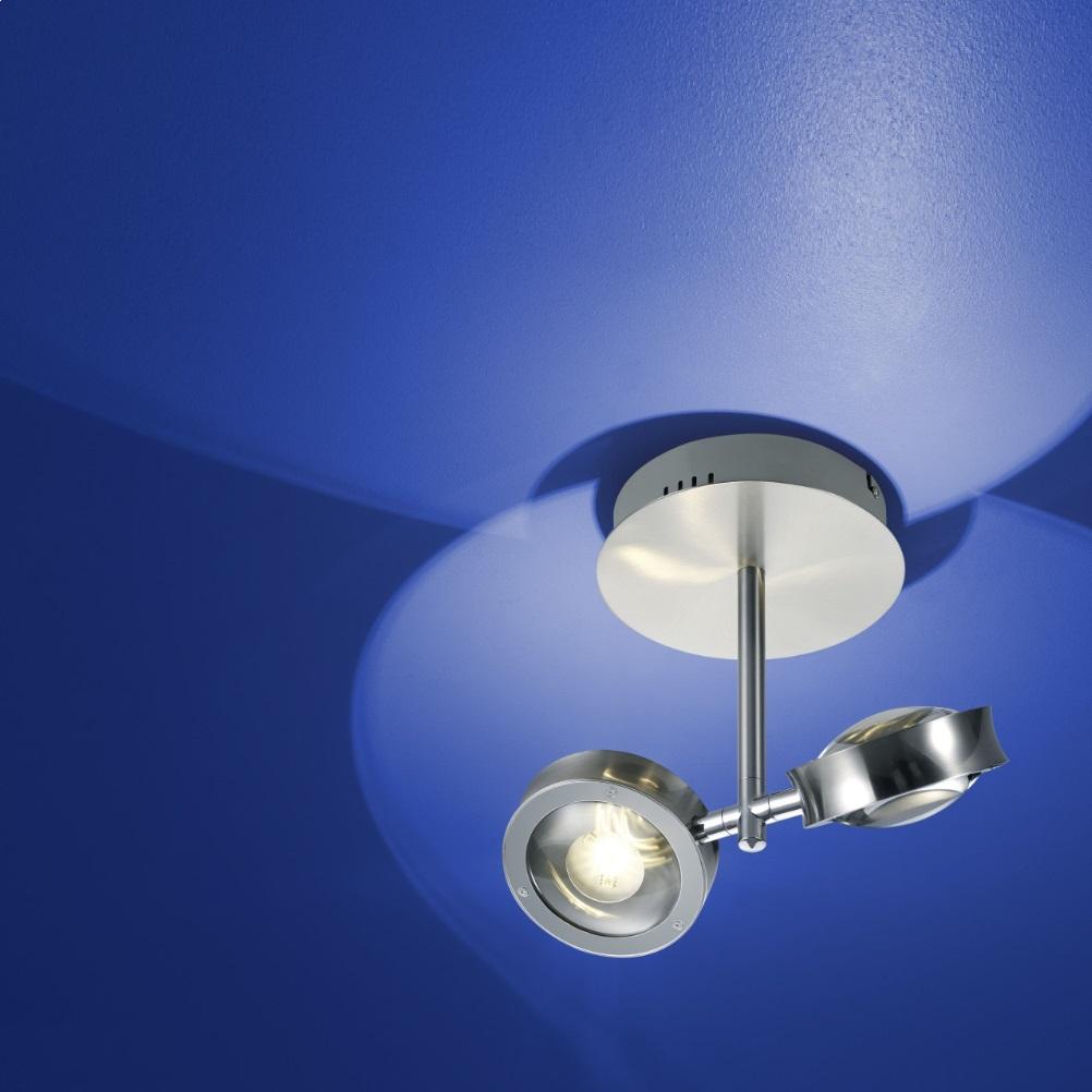 zigbee led deckenleuchte easy light nickel chrom rgb farbwechsel wohnlicht. Black Bedroom Furniture Sets. Home Design Ideas